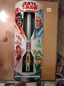 RARE Star Wars Bladebuilders FORCE MASTER 4-Color Jedi Train