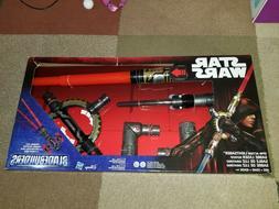 Star Wars Bladebuilders Spin Action Lightsaber NEW
