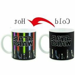 Heat Sensitive Color Change Star Wars Ceramic Cup Mug Lights