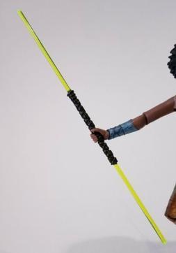 Star Wars Custom Green Double Lightsaber ONLY for Black Seri