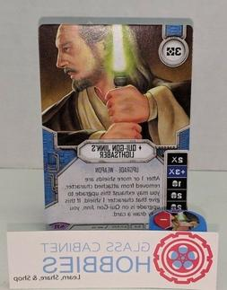 Star Wars Destiny Across the Galaxy Qui-Gon Jinn's Lightsabe