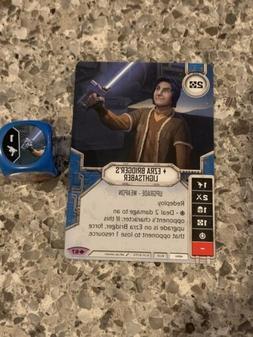 Star Wars Destiny - Ezra Bridger's Lightsaber - Way of t