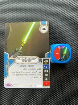 Star Wars Destiny Luke Skywalker's Lightsaber w/Die Awakenin