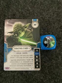 Star Wars Destiny Yoda's Lightsaber w/Die Spark of Hope #74