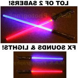 LIGHTSABER STAR WARS FX SOUND LIGHT SABER SWORD TOY LIGHT SA
