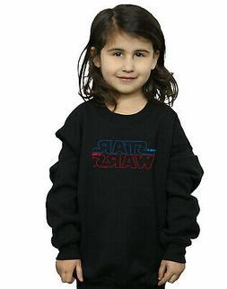 Star Wars Girls Lightsaber Logo Sweatshirt