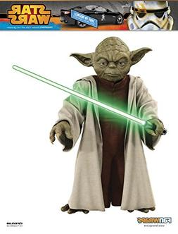 FanWraps Star Wars Jedi Master Yoda with Lightsaber Graphic