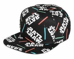 star wars lightsaber all over print snapback