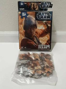 Star Wars Luke Skywalker Cardinal 48 Piece Jigsaw Puzzle New