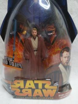 Star Wars Revenge of the Sith Obi-Wan Kenobi Figure Pilot Ge