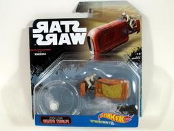 Hot Wheels Star Wars Rogue One Starship Rey's Speeder Vehicl