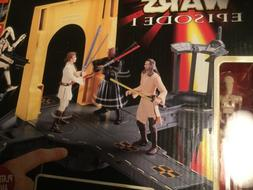 STAR WARS Theed Generator Complex Lightsaber Duel Playset fo