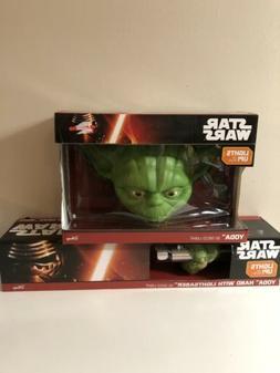 Star Wars Yoda Light FX Face 3D Deco LED Wall Night Light &