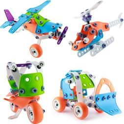 STEM Toys Kit Educational Construction Engineering Building