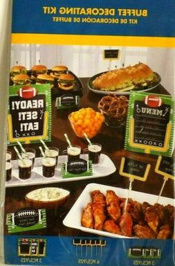 SUNNY ANDERSON AMSCAN BUFFET DECORATION FOOTBALL TABLE SIGNS