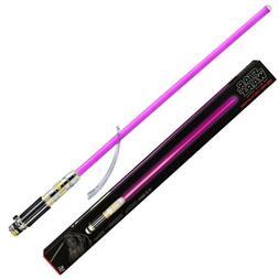 Star Wars The Black Series Mace Windu Ep3 Force FX Lightsabe