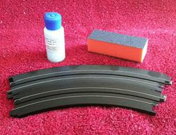 TOMY AFX HO SLOT CAR TRACK COMPLETE CLEANING SYSTEM WITH FAS