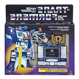 Transformers Soundwave G1 Reissue Walmart Exclusive Buzzsaw