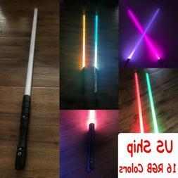 US Ship 16 RGB Colors Star Wars Lightsaber Sword Light Black