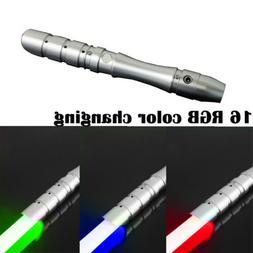 US Stock Lightsaber Sword Light Fx Effect Force Silver Hilt