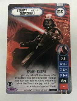 x1 Star Wars Destiny Official Darth Vader's Lightsaber Alt A